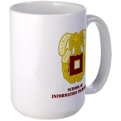 sit - M01 - 03 - DUI - School of Information Technology with Text Large Mug