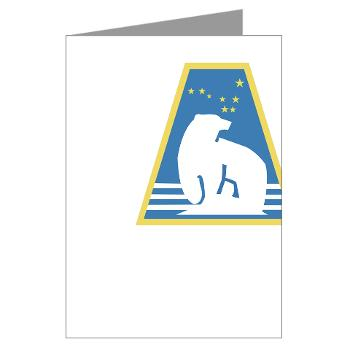 uaf - M01 - 02 - SSI - ROTC - University of Alaska Fairbanks - Greeting Cards (Pk of 10)