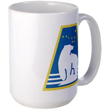 uaf - M01 - 03 - SSI - ROTC - University of Alaska Fairbanks - Large Mug
