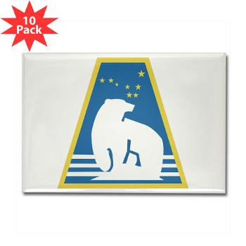 uaf - M01 - 01 - SSI - ROTC - University of Alaska Fairbanks - Rectangle Magnet (10 pack)