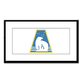 uaf - M01 - 02 - SSI - ROTC - University of Alaska Fairbanks - Small Framed Print