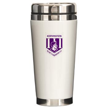 nsula - M01 - 03 - SSI - ROTC - Northwestern State University of Louisiana - Ceramic Travel Mug
