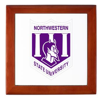 nsula - M01 - 03 - SSI - ROTC - Northwestern State University of Louisiana - Keepsake Box
