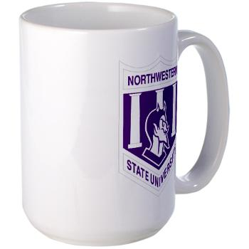 nsula - M01 - 03 - SSI - ROTC - Northwestern State University of Louisiana - Large Mug