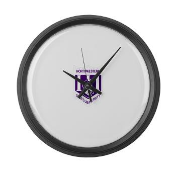 nsula - M01 - 03 - SSI - ROTC - Northwestern State University of Louisiana - Large Wall Clock