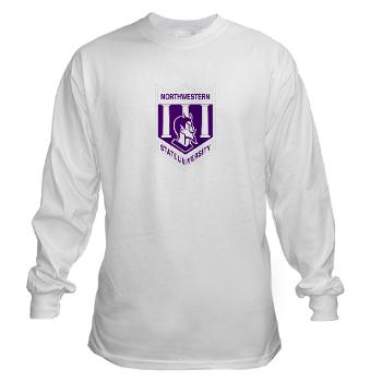 nsula - A01 - 03 - SSI - ROTC - Northwestern State University of Louisiana - Long Sleeve T-Shirt