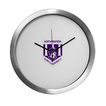 nsula - M01 - 03 - SSI - ROTC - Northwestern State University of Louisiana - Modern Wall Clock
