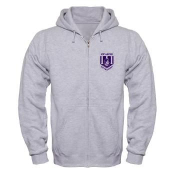 nsula - A01 - 03 - SSI - ROTC - Northwestern State University of Louisiana - Zip Hoodie