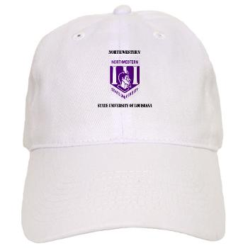 nsula - A01 - 01 - SSI - ROTC - Northwestern State University of Louisiana with Text - Cap