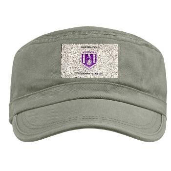 nsula - A01 - 01 - SSI - ROTC - Northwestern State University of Louisiana with Text - Military Cap