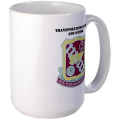 tcs - M01 - 03 - DUI - Transportation Center/School with Text - Large Mug