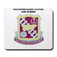 tcs - M01 - 03 - DUI - Transportation Center/School with Text - Mousepad