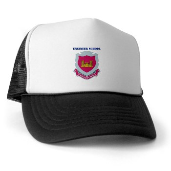 usaes - A01 - 02 - DUI - Engineer School with Text Trucker Hat