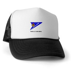 usapfs - A01 - 02 - DUI - Physical Fitness School with Text Trucker Hat